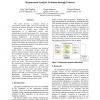 Requirement Analysis Evolution through Patterns