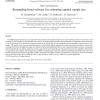 Resampling-based software for estimating optimal sample size