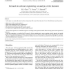 Research in software engineering: an analysis of the literature