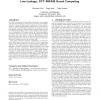 Resistive computation: avoiding the power wall with low-leakage, STT-MRAM based computing