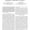 Resource control for the EDCA and HCCA mechanisms in IEEE 802.11e networks