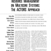 Resource Management on Multicore Systems: The ACTORS Approach