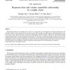 Response time and vendor-assembler relationship in a supply chain