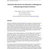 Restricted inflectional form generation in management of morphological keyword variation