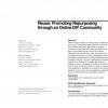 Reuse: promoting repurposing through an online DIY community