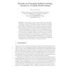 Revising and Managing Multiple Ontology Versions in a Possible Worlds Setting