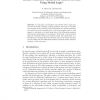 Robust Controller Synthesis for Hybrid Systems Using Modal Logic