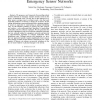 Robust Location Detection in Emergency Sensor Networks