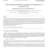 Robust multiperiod portfolio management in the presence of transaction costs