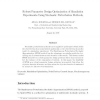 Robust parameter design optimization of simulation experiments using stochastic perturbation methods