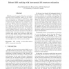 Robust SSD tracking with incremental 3D structure estimation