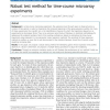 Robust test method for time-course microarray experiments