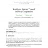 Rounds vs. Queries Tradeoff in Noisy Computation