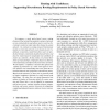Routing with Confidence: Supporting Discretionary Routing Requirements in Policy Based Networks