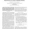Rule-based SLA management for revenue maximisation in Cloud Computing Markets