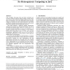 Runtime Code Generation and Data Management for Heterogeneous Computing in Java