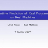 Runtime Prediction of Real Programs on Real Machines