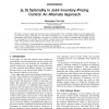 (s, S) Optimality in Joint Inventory-Pricing Control: An Alternate Approach