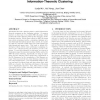 SAIL: summation-based incremental learning for information-theoretic clustering