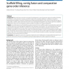 Scaffold filling, contig fusion and comparative gene order inference