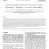 Scalable multicasting with network-aware geometric overlay