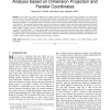 Scalable Multivariate Volume Visualization and Analysis Based on Dimension Projection and Parallel Coordinates
