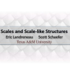 Scales and Scale-like Structures
