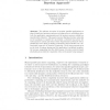 Scheduling Under Conditions of Uncertainty: A Bayesian Approach