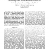 Scheduling with Rate Adaptation under Incomplete Knowledge of Channel/Estimator Statistics