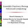 Scientific Discovery through Advanced Computing
