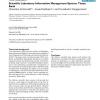 Scientific Laboratory Information Management System: Tissue Bank