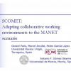 SCOMET: Adapting Collaborative Working Environments to the MANET Scenario