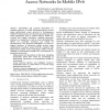 Seamless Handover For Unidirectional Broadcast Access Networks In Mobile IPv6