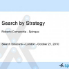 Search by strategy