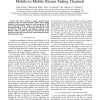 Second Order Statistics of Non-Isotropic Mobile-to-Mobile Ricean Fading Channels