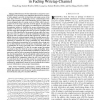 Secrecy Wireless Information and Power Transfer in Fading Wiretap Channel
