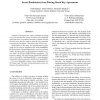 Secret Handshakes from Pairing-Based Key Agreements