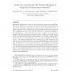 Secure key loss recovery for network broadcast in single-hop wireless sensor networks