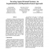 Securing Agent-Oriented Systems: An Argumentation and Reputation-based Approach