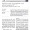 Security analysis of wireless mesh backhauls for mobile networks