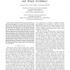 Security in All-Optical Networks: Self-Organization and Attack Avoidance