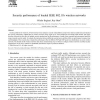 Security performance of loaded IEEE 802.11b wireless networks