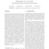 Segmentation of a Vector Field: Dominant Parameter and Shape Optimization