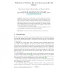 Selection of Actions for an Autonomous Social Robot