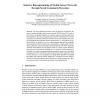 Selective Reprogramming of Mobile Sensor Networks through Social Community Detection