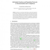 Self-similar Functions and Population Protocols: A Characterization and a Comparison