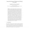 Semantically Enhanced Collaborative Filtering on the Web