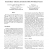 Semantics Based Verification and Synthesis of BPEL4WS Abstract Processes