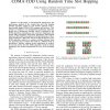 Semi-Analytical Model of Interference in CDMA-TDD Using Random Time Slot Hopping