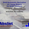 Semi-automatic derivation of timing models for WCET analysis
